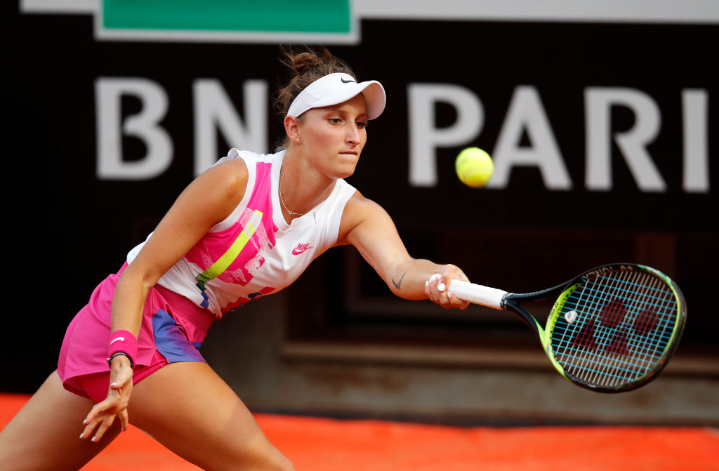 Vondrousova tests positive, out of Ostrava