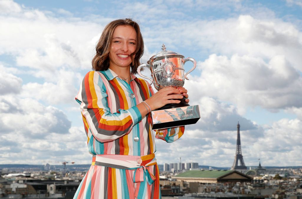 Świątek shocked by French Open win