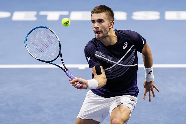 Rublev and Coric make St. Petersburg final