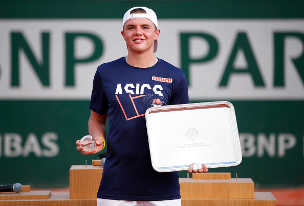 Swiss on a roll – Juniors at the French Open