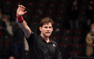 In Vienna Thiem and Djokovic struggle and Evans progresses.