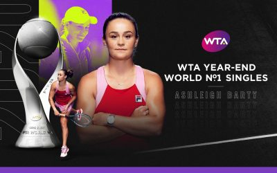 Barty ends year as World No 1
