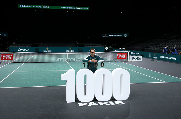 Nadal secures his 1000th tour victory