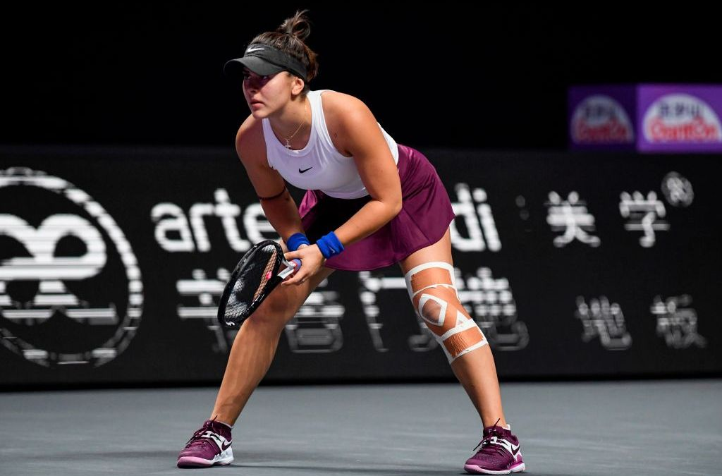 Andreescu on track for 2021 return