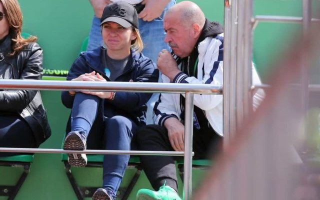 Halep loses early benefactor