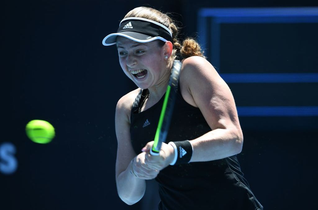 Ostapenko and Garcia early Gippsland Trophy winners