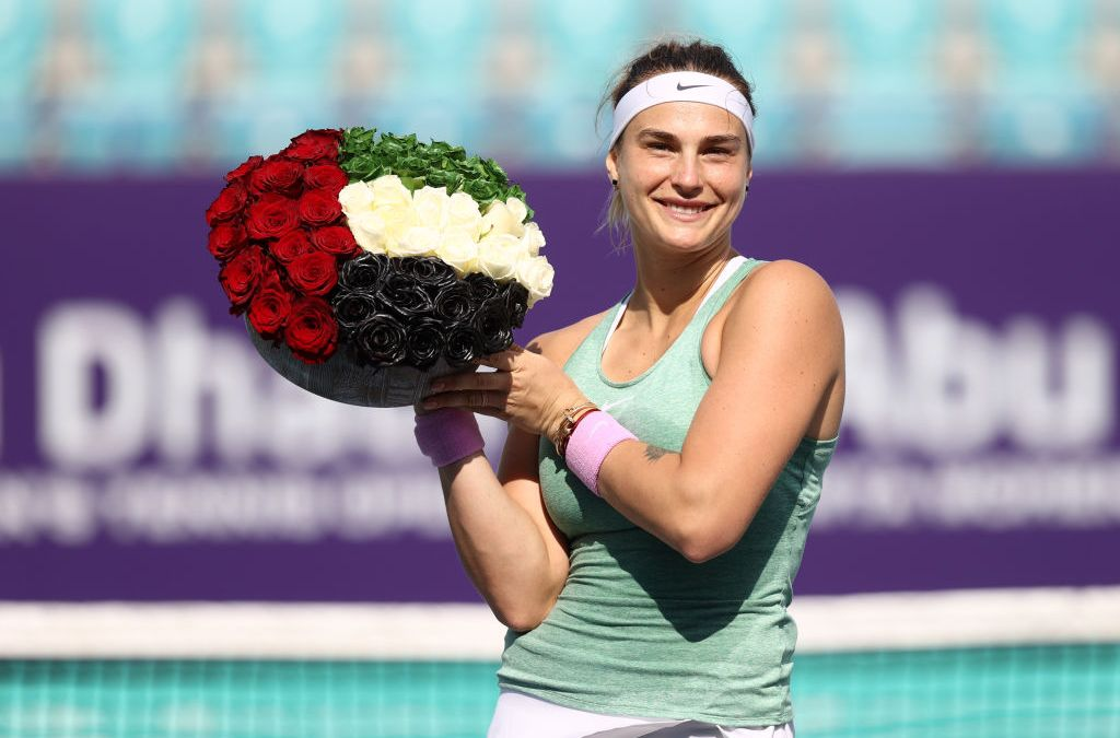 Superb Sabalenka storms to Abu Dhabi title