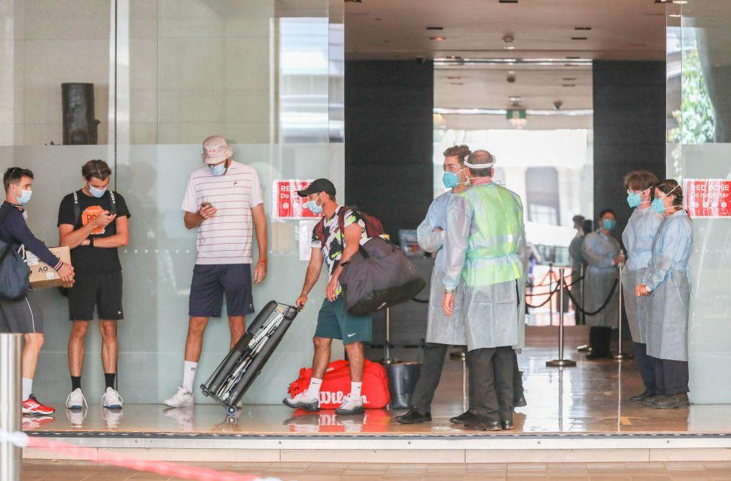 AO Quarantine check-out begins