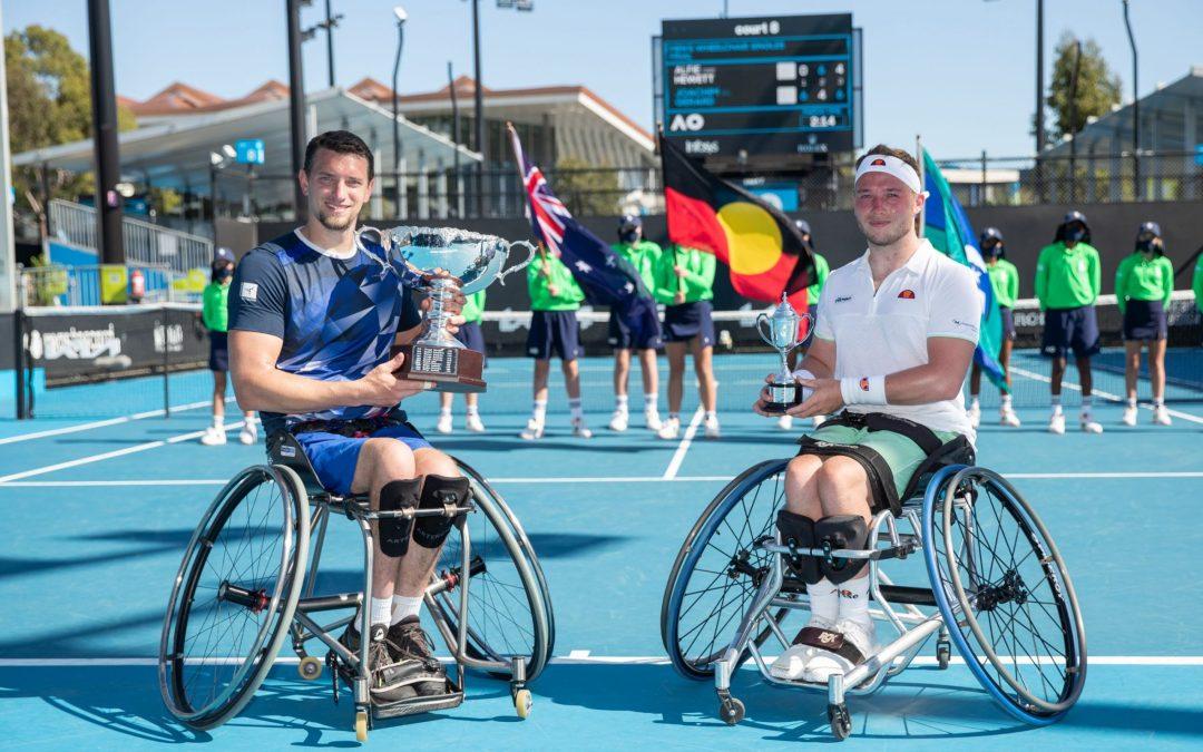 Hewett suffers defeat in wheelchair final