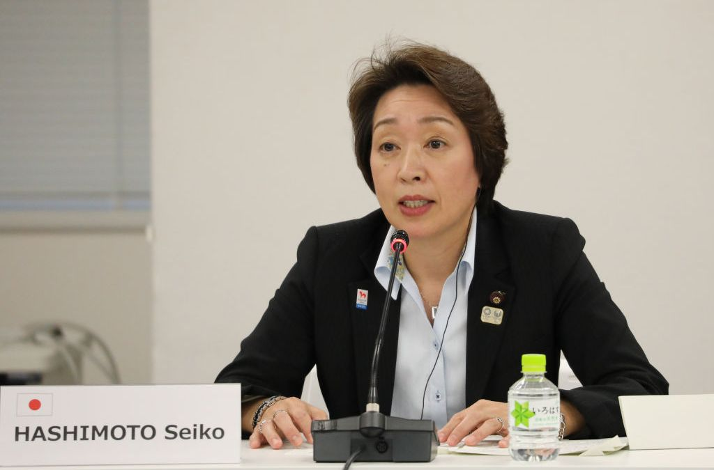 Tokyo 2020 appoints female President