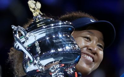 Osaka triumphs over Brady for AO21 title