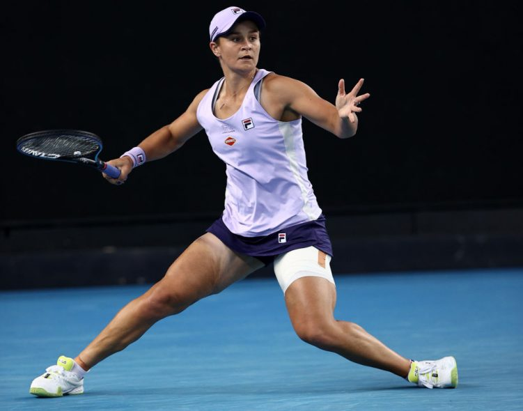 Barty, Brady and Vekic make AO R4, but Rogers stops Kontaveit