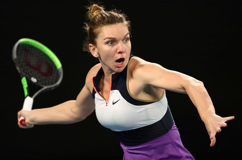 Halep halts Swiatek to meet Serena in quarters