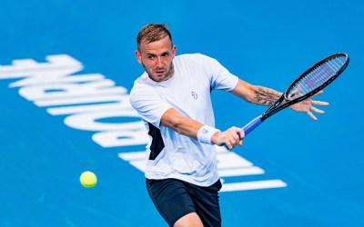 Evans battles into Murray River Open semi-finals
