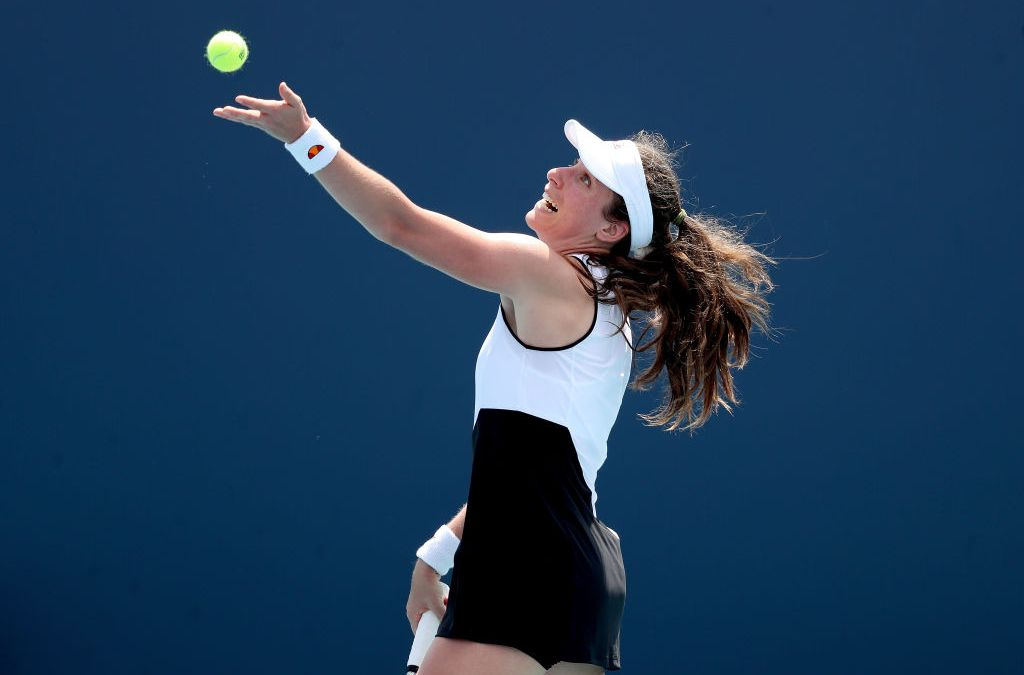 Konta wins as Barty battles to great escape in Miami