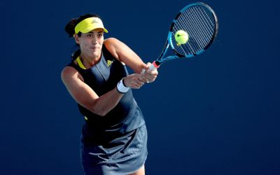 Muguruza and Andreescu advance as Kenin and Rybakina fall