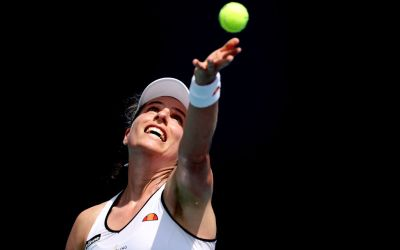 Konta opens Madrid with a win as Svitolina falls