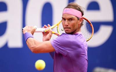 Nadal survives opener while Fognini gets defaulted.