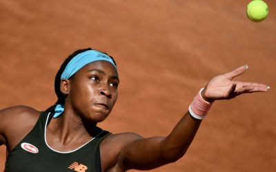 Gauff wins battle of the teens in Parma