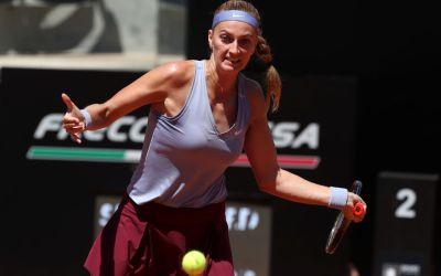 Kvitova, Brady, Swiatek and Sakkari open Rome accounts