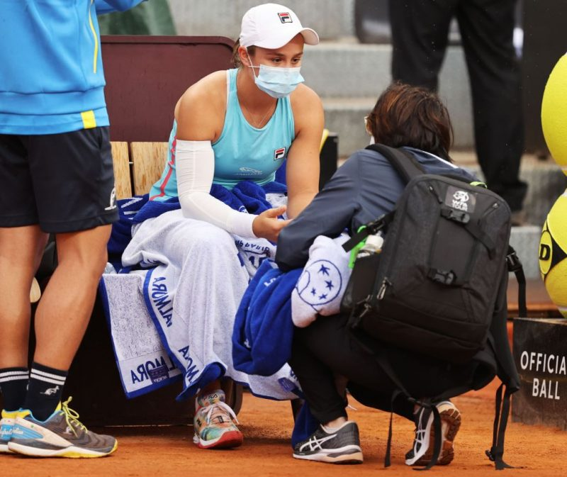 Barty lets Coco through, Pliskova to meet Martic