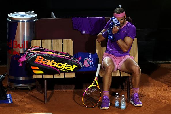 Nadal back on track