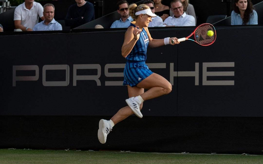 Kerber downs Kvitova to play Siniakova in Bad Homburg final