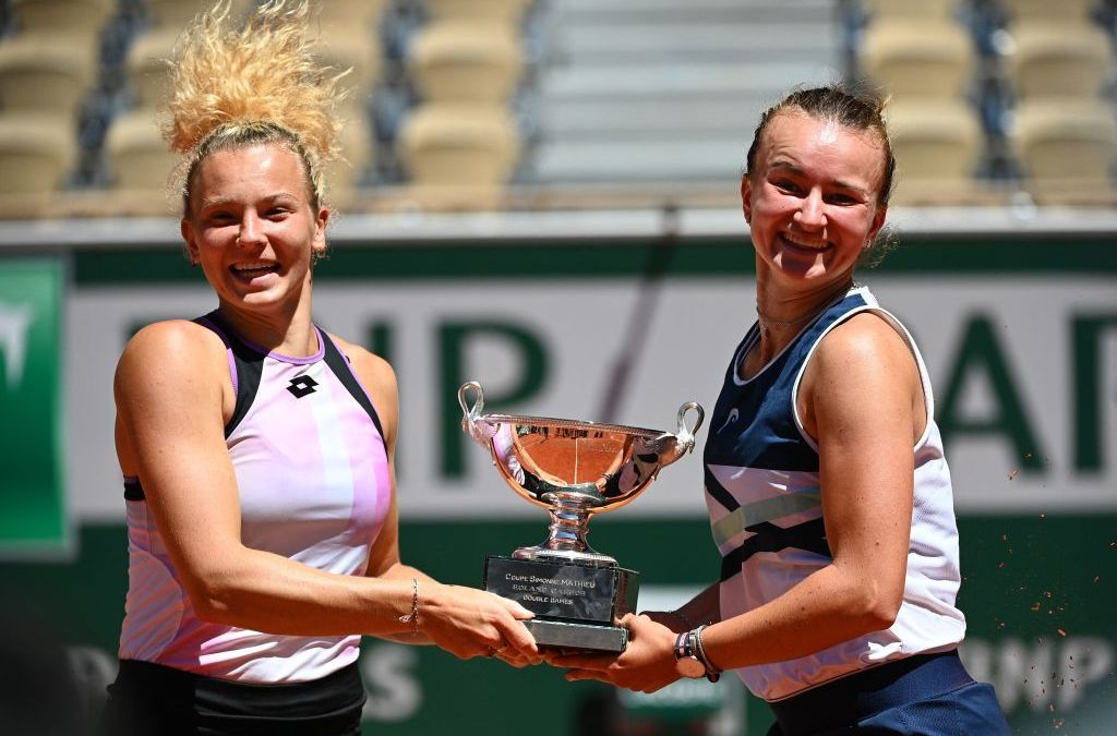 Krejcikova lands the double in Paris