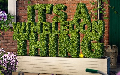 AELTC Launches 'It's A Wimbledon Thing'
