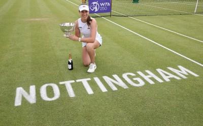 Konta conquers Nottingham at third attempt