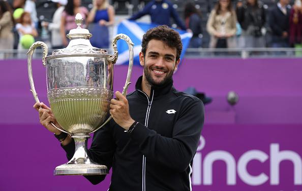 Berrettini is latest Queen's champion