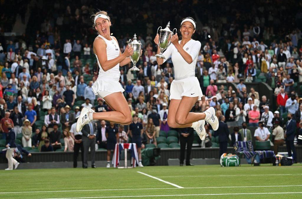 Hsieh & Mertens Wimbledon Champions
