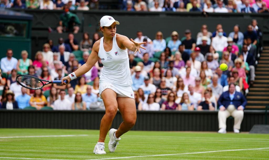 Barty beats Kerber to reach her first Wimbledon Final