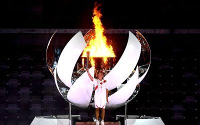 Osaka lights up Olympics