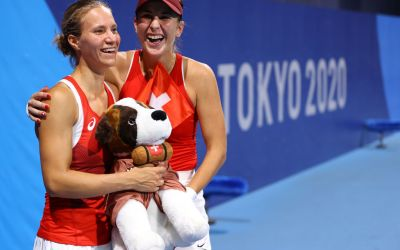 Going for Women's Doubles Gold