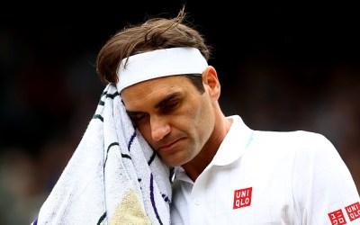 Federer is poleaxed by Hurkacz