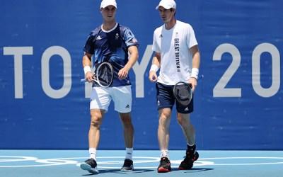 British Tennis Olympic hopes squashed
