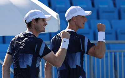 Andy Murray has revealed a promise he made to Olympic doubles partner Joe Salisbury.