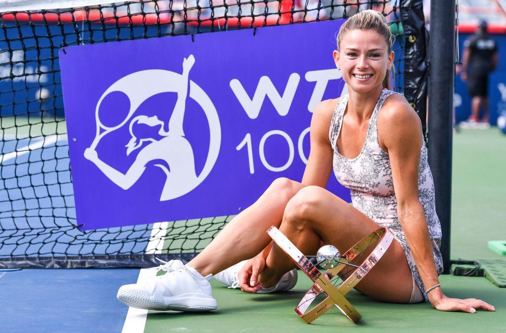 Giorgi stuns Pliskova to win WTA 1000 in Montréal