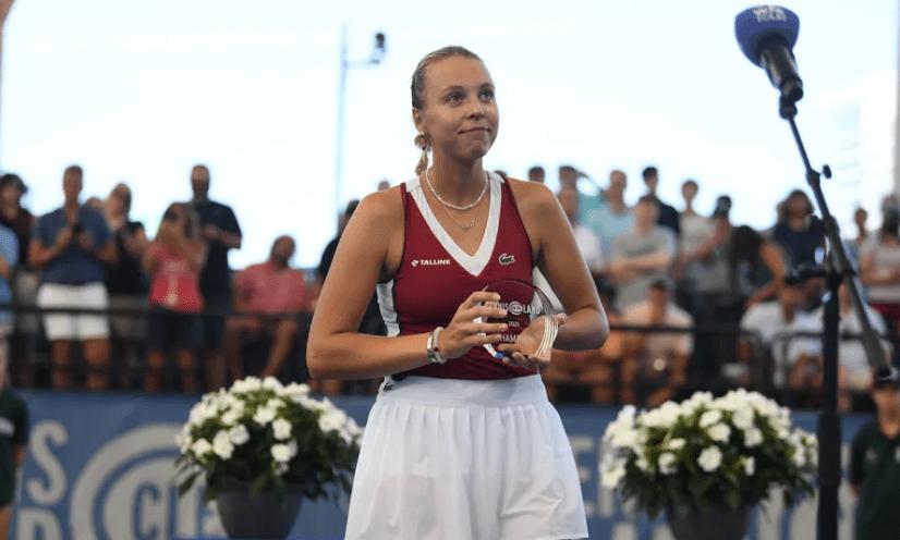 WTA Roundup: Kontaveit and Svitolina win Cleveland and Chicago
