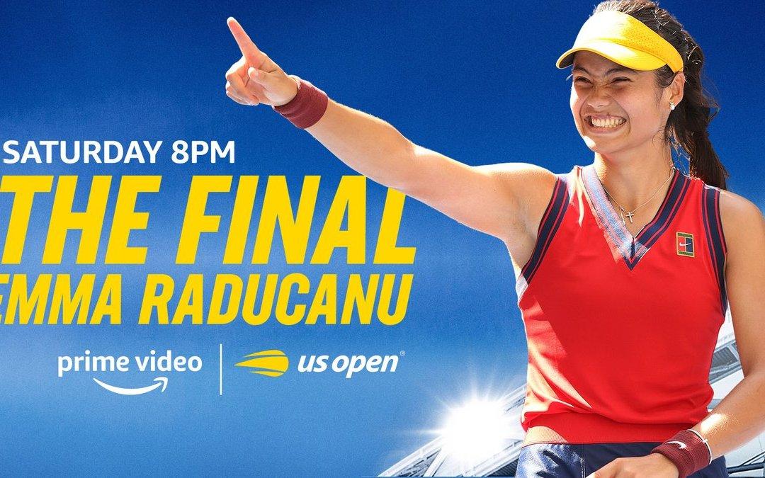 Watch Raducanu's US Open Final free on Channel 4 tonight