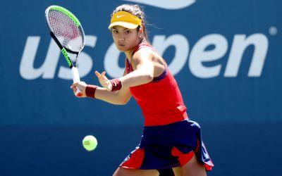 Raducanu storms into R3 at the US Open