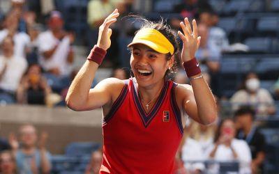 Raducanu to play Sakkari in US Open semi-finals