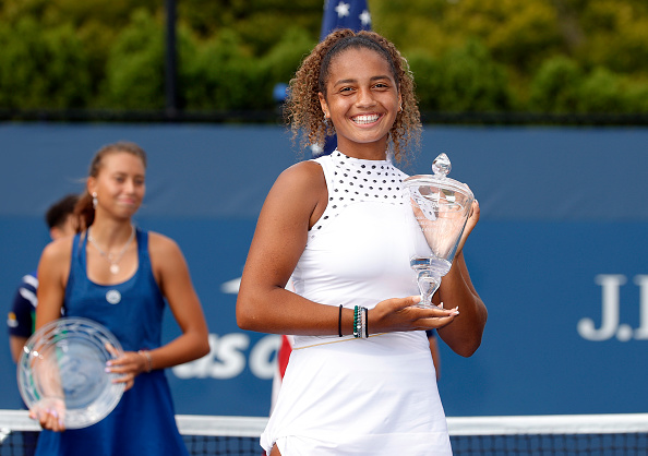 Double boost for American tennis