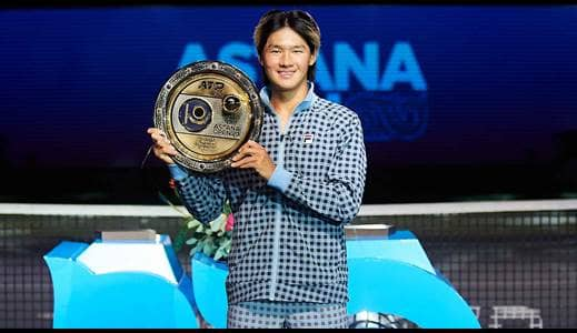 Kwon collects maiden ATP title