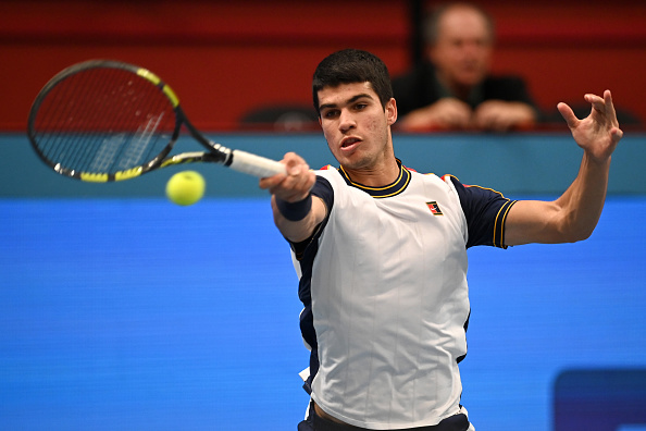 Alcaraz outpowers Murray in Vienna