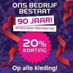 Rob van der Geest SPORT 2000 90 jaar