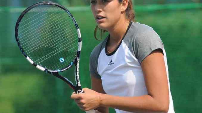 Garbine Muguruza has been sent packing from the WTA Beijing