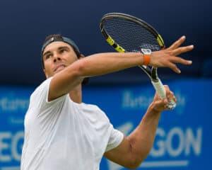 Rafael Nadal in 2017