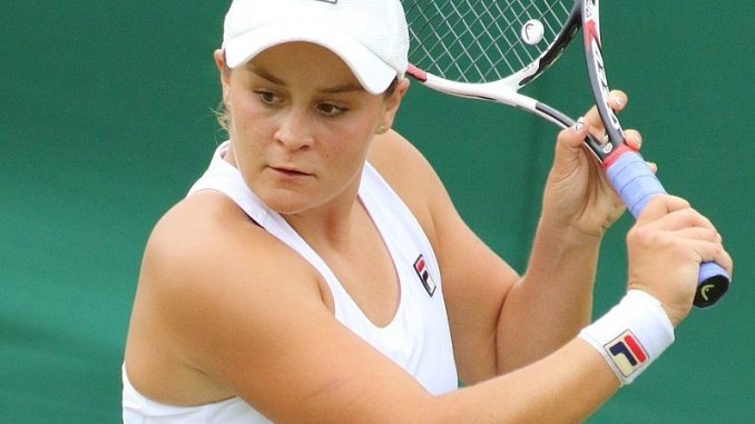 Ashleigh Barty won her Fed Cup match